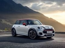 The new MINI John Cooper Works is represented in Russia