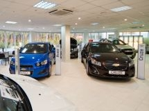 For the year Chevrolet dealer network declined 2.3 times