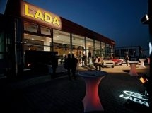 In Hungary it was opened its first auto show LADA