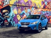Subaru began sales of the updated crossover XV in Russia