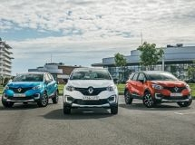 Renault Kaptur entered the top-five in the SUV segment in July
