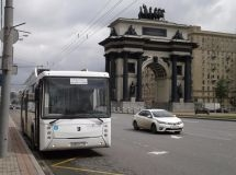 Electric bus KAMAZ will be tested on the streets of Moscow