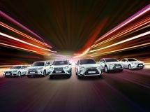 Lexus models form the top-three leaders in the premium segment