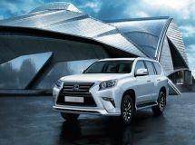 Lexus starts sales of a new version of the GX 460 SUV