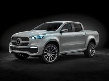 Pick-up Mercedes-Benz X-CLASS will be produced in Spain and Argentina