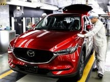 Mazda launched the production of new crossover CX-5