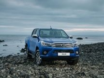 Toyota Hilux became the best-selling pickup in Russia in 2016