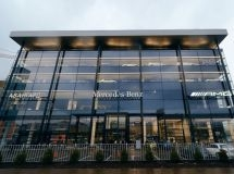 Mercedes-Benz opened the largest dealer center in the North-West