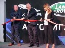 Jaguar Land Rover opened a new dealer center in Nizhny Novgorod
