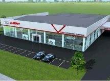 Chery increases a dealer network in Russia