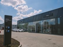 Lexus opened the first dealer center in Tomsk