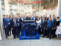 KAMAZ launched a new conveyor for the production of P6 engines