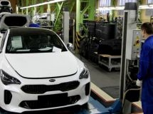 Avtotor began the production of a new fast food KIA Stinger