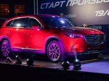 Mazda Sollers launches the mass production of Mazda CX-9 crossover