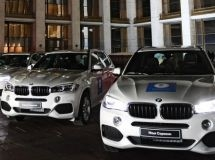 Champions and prize-winners of the Olympic Games in Pyeongchang were awarded with BMW cars