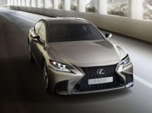The new Lexus LS went on sale in Russia