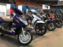 LIFAN introduced an updated line of motorcycles and scooters