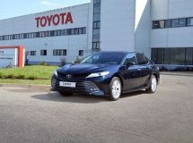 St. Petersburg plant Toyota launched the production of new Camry in its anniversary