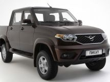 Model UAZ became the leader of the Russian pickup truck market in April