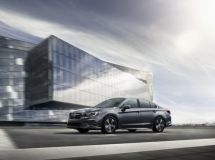 The new Subaru Legacy started on selling in Russia