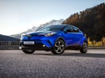 Prices for the new Toyota C-HR were announced in Russia