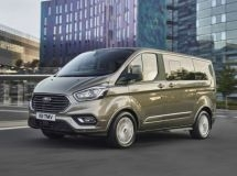 Updated Ford Tourneo Custom and Transit Custom were launched in Russia