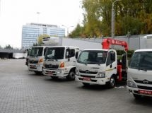Japanese Hino will begin the construction of automobile plant in the Moscow suburbs in August