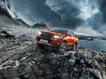 Toyota Hilux received a new special series Exclusive