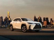 There were known details on the new Lexus UX for Russia