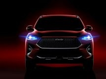 New crossover Haval F7 will be presented in the Moscow Auto Show