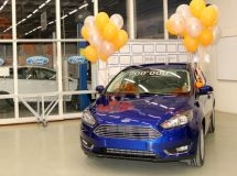 The 700,000th Ford Focus car was released in Russia