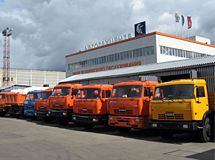 KAMAZ-LEASING leased 18 special vehicles to Bashkortostan building company