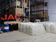 JAC opened a spare parts warehouse in Russia
