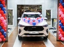 In Russia the 2 thousandth crossover Haval F7 was released