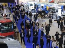 An exhibition of commercial vehicles, COMTRANS 2019, was opened in Moscow