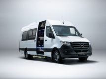 Mercedes-Benz introduced the new Sprinter Tourist minibus in Russia