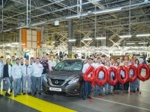 St. Petersburg plant Nissan has released the 400 thousandth car