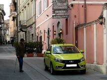 Sales of LADA cars fell by 21% in the European Union in October