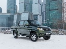 UAZ model became the best-selling pickup truck in the Russian Federation in 2019