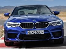 BMW recalls 190 M5 and M8 cars in Russia