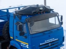 KAMAZ has developed an autonomous vehicle control module