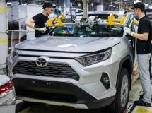 Toyota, Nissan and Renault suspended the car production in Russia