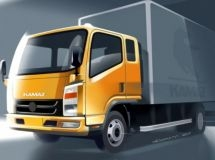 The first details of a light truck from KAMAZ are disclosed