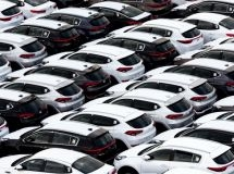 The Russian car market in March rose to the third place in Europe