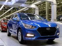 St. Petersburg Hyundai plant resumed the car production