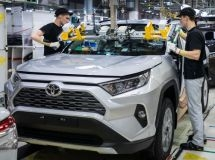 Toyota plant plans to resume the work in early May in St. Petersburg