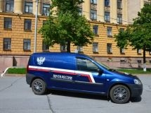 AvtoVAZ will deliver more than 1000 LADA Largus for Russian Post