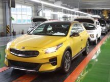 In Russia, the production of KIA XCeed coupe-crossover began