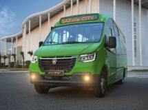 GAZ began the sales of the new low-floor minibus GAZelle City