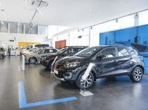Renault entered the top-3 in the Russian market in April
